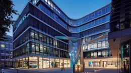 Munich Buildings in a Nightly Atmosphere. Source: BAU